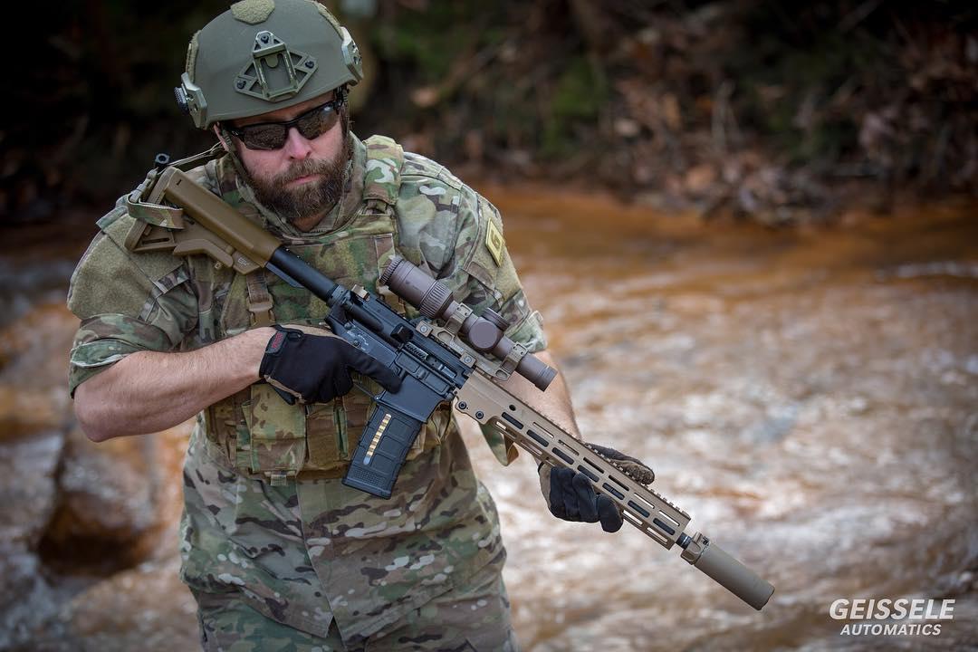 米陸軍特殊部隊のsopmod Block 3 Urg I The